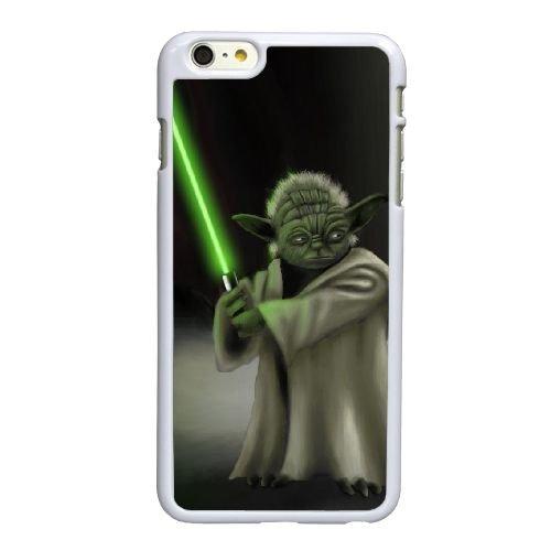 W3J44 Star Wars Yoda Q6D2XB coque iPhone 6 4.7 pouces Cas de couverture de téléphone portable coque blanche IH1BDB8QR