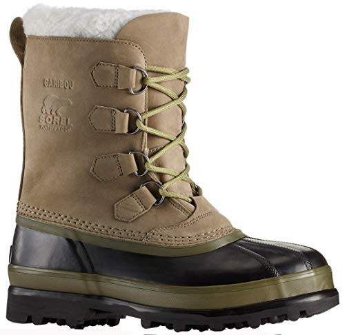 Sorel Caribou Boot - Men's Sage/Black, 8.0