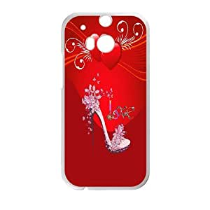 Hot High-heeled shoes Protect Custom Cover Case for HTC One M8 GMW-37581