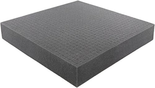 - Pick and Pluck - Pre-Cubed foam tray 300 mm x 300 mm x 50 mm (11.8 inch x 11.8 inch x 2 inch) plus FREE bottom