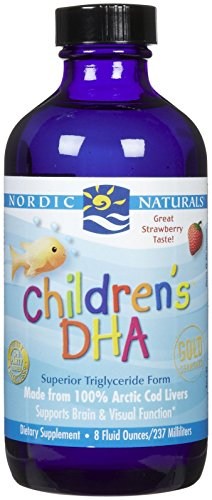 Nordic Naturals - Children's DHA, Healthy Cognitive Development and Immune Function, 8 Ounces