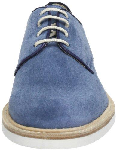 Florsheim Morgan 50607-54 - Zapatos Derby de cuero para hombre Azul (Blau (Light Blue))