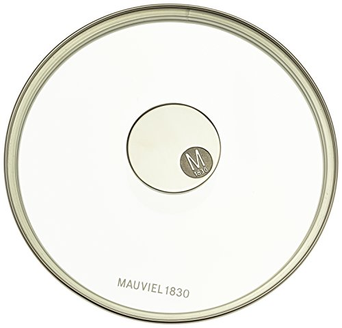 Mauviel Made In France M'360 5318.20 7.8-Inch Glass Lid with Cast Stainless Steel