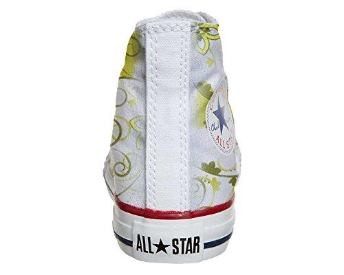 Converse All Star Customized - personalisierte Schuhe (Handwerk Produkt) Summer Paisley