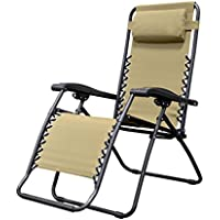 Caravan Sports Infinity Zero Gravity Chair (Beige)