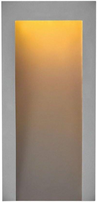 Eglo  87015A Gita 1-Light Wall Light Fixture Chrome//White Plastic