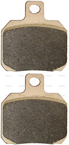 - Copper Sintered Front Brake Shoe Pads Set fit DERBI GP1 125 (06-10) Peugeot Satelis 500 Premium (06-09)