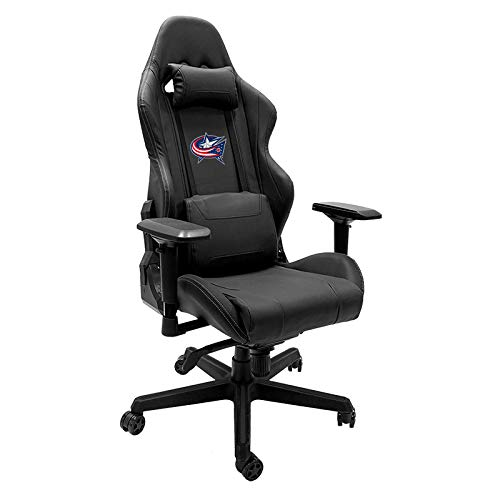 - Xpression Gaming Chair with Columbus Blue Jackets Logo