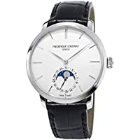 Frederique Constant Slimline Silver Dial Stainless Steel Men's Watch FC705S4S6
