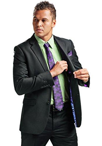 FunComInc Incredible Hulk Slim Fit Adult Suit Jacket with Hult Print Inner Lining - 44R