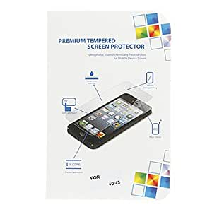 Tqie Ultra-thin Professional Damage Protection LCD Screen Guard with Cleaning Cloth for iPhone 4/4S