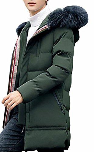 1 pelliccia Outwear Slim Giacca Fit Oggi Con Eco uk Di Inverno Mens Cappuccio Puffer 0UwxqwOR