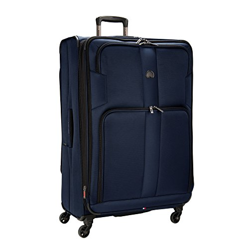 Delsey Sky Max 29-Inch Expandable Spinner Upright (Blue) by DELSEY Paris
