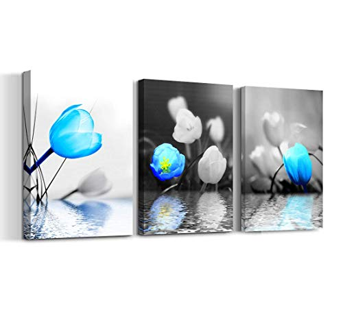 SkywardArt Wall Art Flower Painting 12