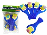4 PC Craft Stamp Rollers Size: 5.25'' L, Case of 144