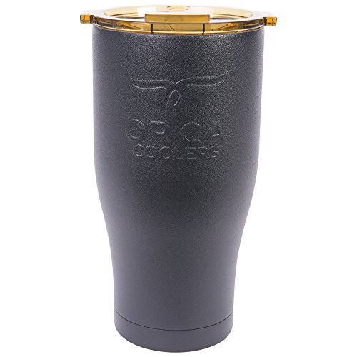 ORCA Chaser Cup, Black/Gold, 27 oz
