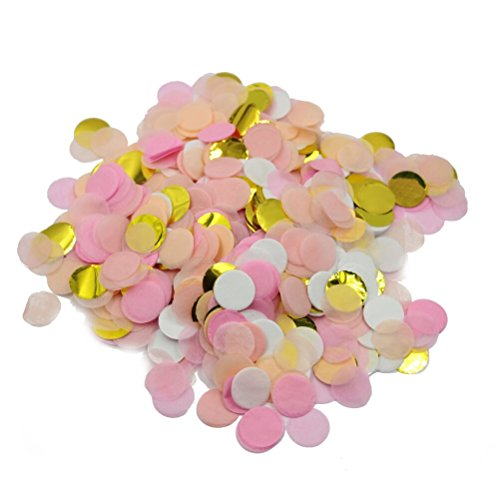 Parmay-1-Inch-Gold-Pink-Tissue-Paper-Confetti-Birthday-Party-Decorations-Pack-of-5000