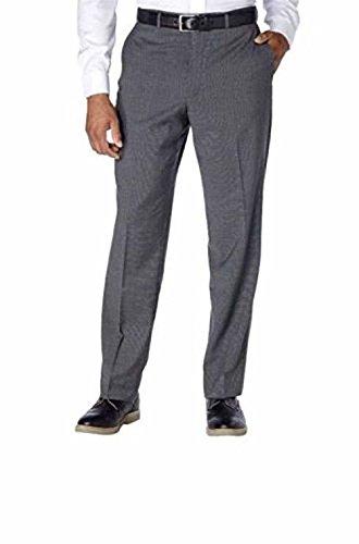 Kirkland Signature Men's 100% Wool Flat Front Dress Pants (Charcoal, 36W x 32L)