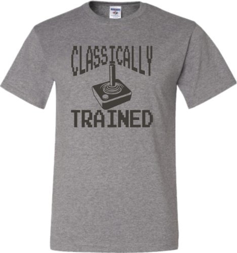 Classically Trained 8 Bit Gamer T-shirt for Men