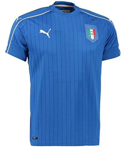 PUMA 2016-2017 Italy Home Football Soccer T-Shirt Jersey (Kids)