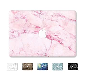 DowBier MacBook Decal Vinyle Peau Autocollant Couverture Anti-Rayures Autocollant pour Apple Macbook Macbook Air 11//inch A1370//A1465, White Marble