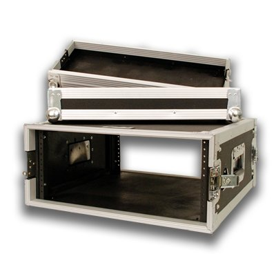 Seismic Audio - 4 SPACE RACK CASE for Amp Effect Mixer PA/DJ PRO Audio by Seismic Audio (Image #2)