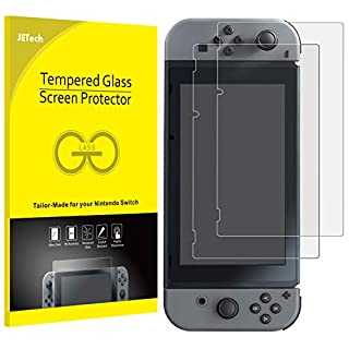 JETech Screen Protector for Nintendo Switch 2017, Tempered Glass Film, 2-Pack
