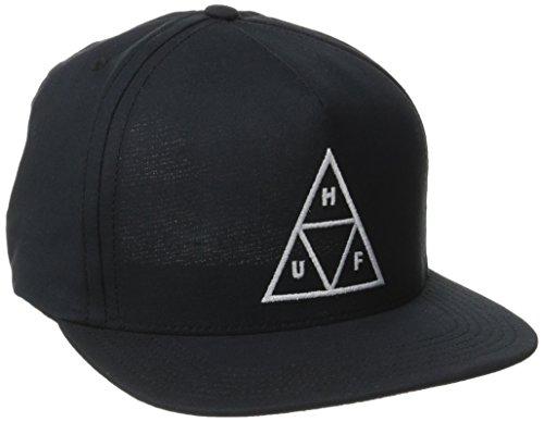 HUF Men's Triple Triangle Snapback, Navy, One Size