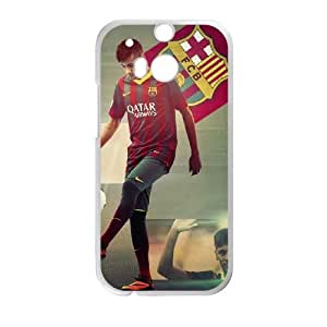 HTC One M8 Cell Phone Case White Neymar Qjgxf