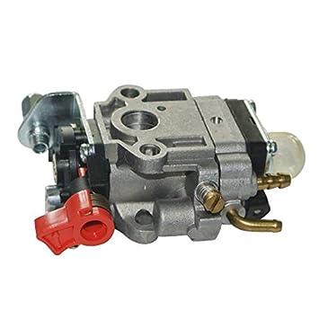 Cortacésped Carburador Motor para 26 cc piezas de repuesto 1e34 F