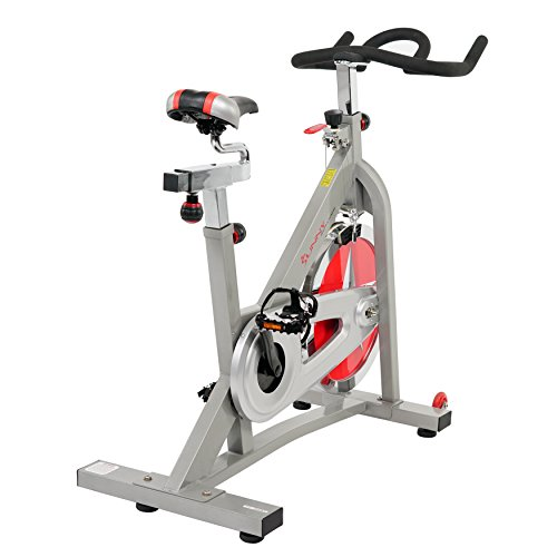 Sunny Health & Fitness SF B901B Belt Drive Indoor Cycling Bike