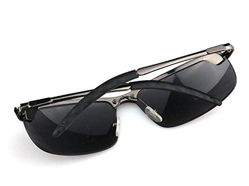 résistant Hommes Lunettes Plein air en métal de UV aux Soleil des en pour Les YANXJING Z6qzwn4In