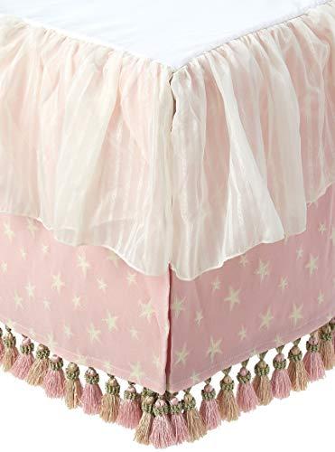 Glenna Jean Crib Skirt Isabella Dust Ruffle for Baby Nursery Crib (Crib Dust Ruffle Pattern)