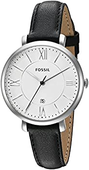 Fossil Jacqueline Women's 3-Hand Date Leather Watch