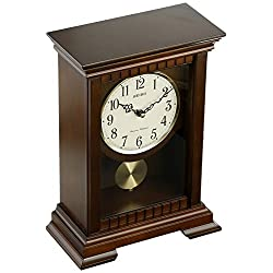 Seiko QXQ029BLH Japanese Quartz Shelf Clock
