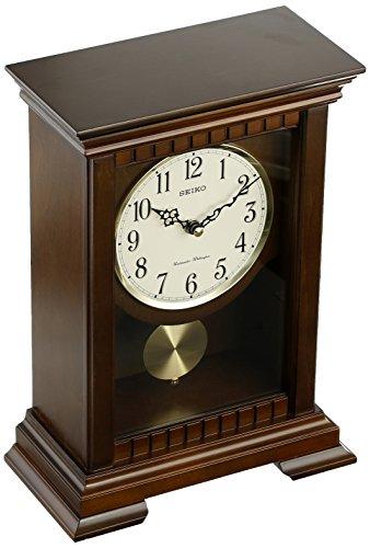 Seiko QXQ029BLH Japanese Quartz Shelf Clock