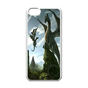 James-Bagg Phone case dragon at sky pattern For Iphone 5c FHYY427813