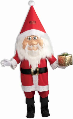 Forum Novelties Men's Jolly Santa Claus Parade Pleaser Costume, Multi, One Size (Mr And Mrs Claus Costume)