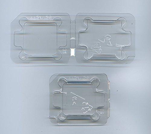 2x Computer CPU Packaging Clamshell Container for FOR LGA775 LGA1150 LGA1155 LGA1156