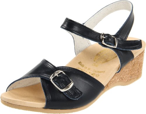 Worishofer Women's 711 Sandal Navy sale 2014 newest kAx0pV6f