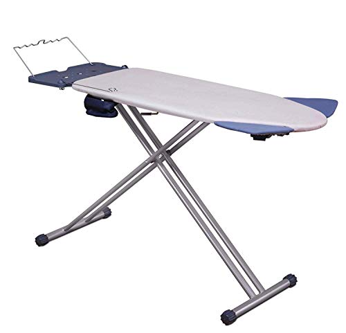 Mabel Home Extra-Wide ironing Pro Board with Shoulder Wing Folding, 8 Feature, with + Extra Cover (Best Rated Ironing Board)