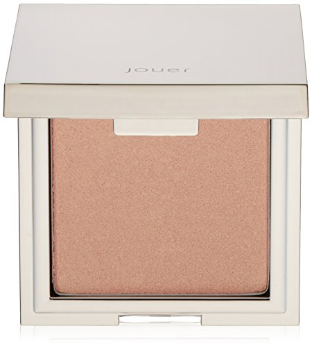 Jouer Powder Highlighter, Shimmering Rose Gold, 0.16 oz.