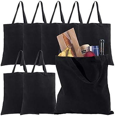 Cotton Tote Bags Canvas Tote Bags Plain Reusable Canvas Grocery