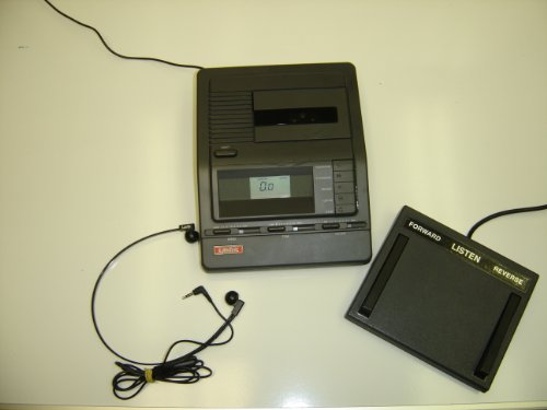Used Equipment Transcription (Lanier Vw-210 Vw 210 Microcassette Transcriber with Pedal and Headset)