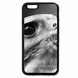 iPhone 6S Case, iPhone 6 Case (Black & White) - Horus