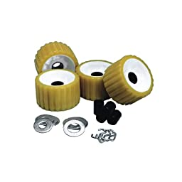 Ce Smith Ribbed Roller Replacement Kit 4 Pack Gold (Part #29310 By C.E. Smith)