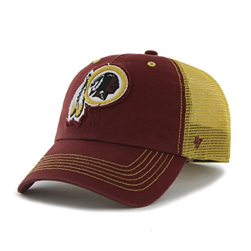 online retailer 3a2bd b52dc NFL Washington Redskins  47 Brand Taylor Closer Stretch Fit Hat, Razor Red, One  Size Stretch - Buy Online in UAE.   Sports Products in the UAE - See  Prices, ...