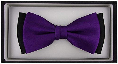 TigerTie purple Applicable dunkles Not Tie purple Bow Men's black rgwp0qr