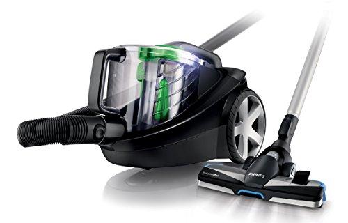 Philips PowerPro FC8769/91 Staubsauger EEK A (beutellos, EPA12 Filter) schwarz