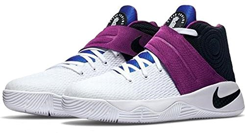 Zapatillas De Baloncesto Nike Grade School Boys Kyrie 2 Blanco / Negro-negrita Berry-lyon Blue